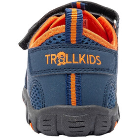 TROLLKIDS Sandefjord Sandali Bambino, blu/arancione